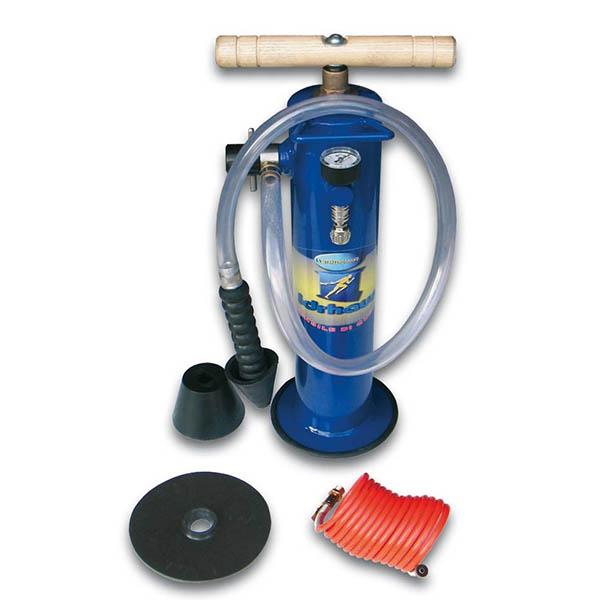 Pompa disostruente manuale Blu Idrhaus
